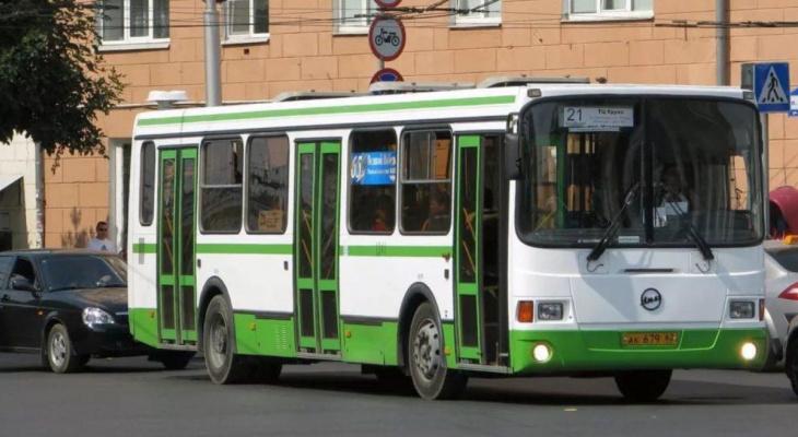 Гордума: в Рязани могут изменить два автобусных маршрута