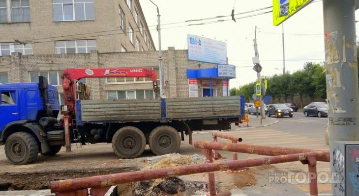 Очередной ремонт теплосетей: в Рязани перекроют перекресток улиц Горького и Новой