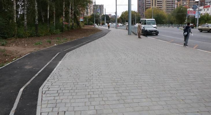 Сорокина: в Дашково-Песочне появится двухкилометровая велодорожка