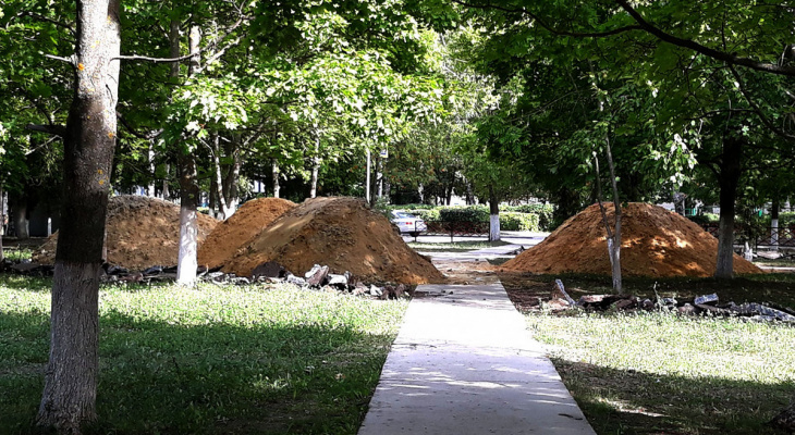 Тендер: в Гусе-Железном обустроят парк