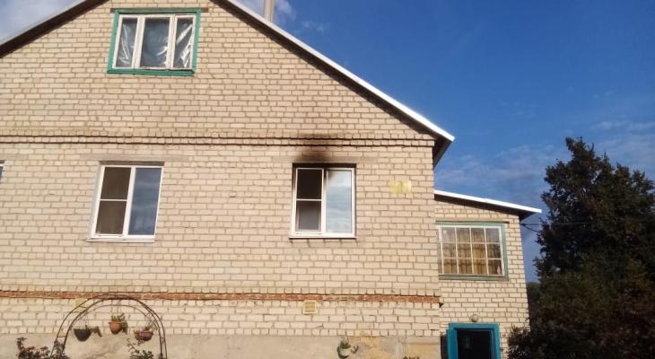 Не успела выйти: при пожаре в скопинском доме пострадала женщина