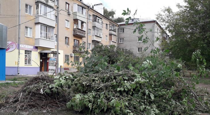 Лежит почти месяц: администрация вывезет мусор с улицы Пушкина на следующей неделе