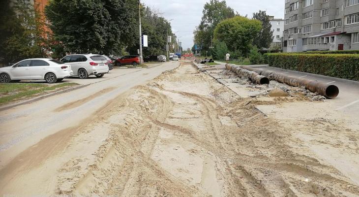 Первый участок сегодня: улицу Татарскую после ремонта теплотрассы будут открывать поэтапно
