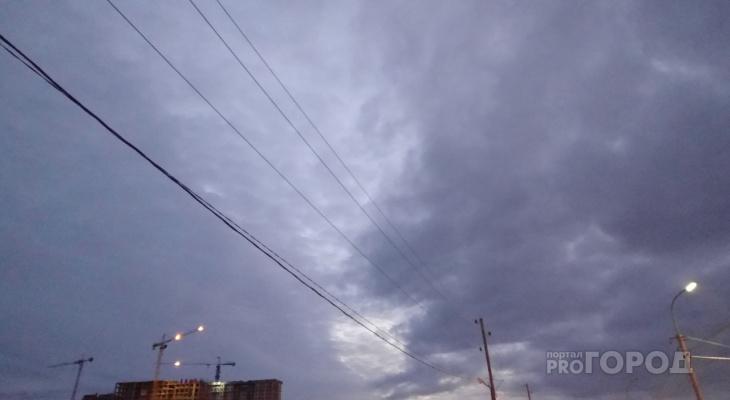 Неделя начинается со шторма: весь понедельник в Рязани будут сильные дожди