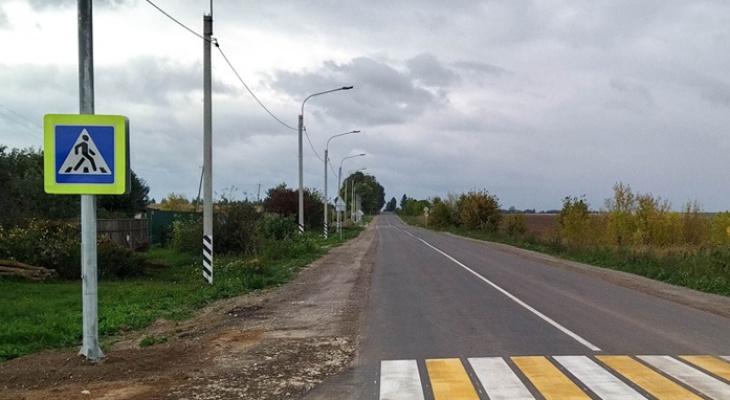 12 километров: в Касимовском районе завершили капремонт Ряжской трассы