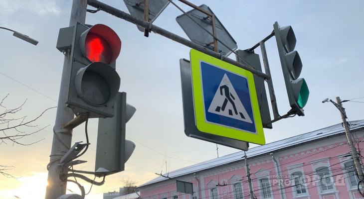 """Бардак на дороге: на перекрестке у """"Глобуса"""" отключился светофор"""