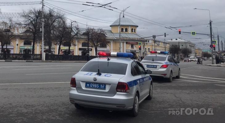 6 пьяных за сутки: в рязанском ГИБДД подвели итоги рейда на дорогах
