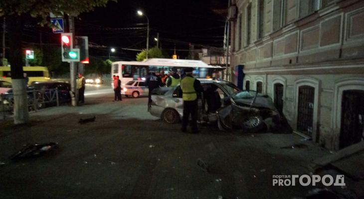 Появилось официальное сообщение о пострадавших в ДТП в центре Рязани