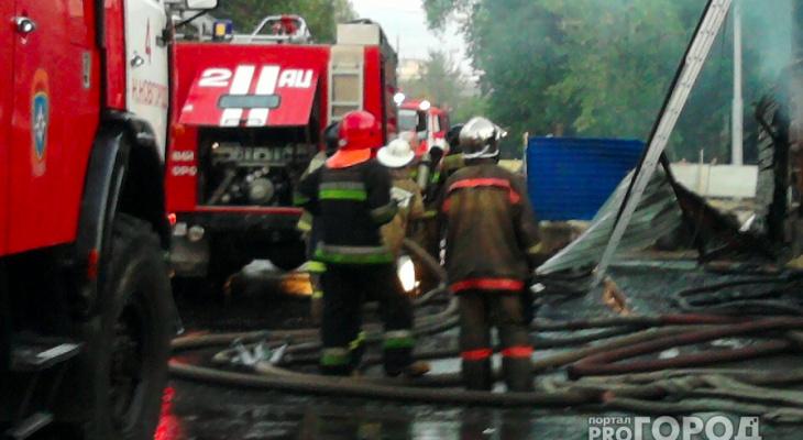 В Захаровском районе сгорела животноводческая ферма