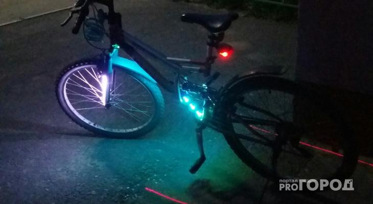 Житель Рязани превратил свой велосипед в НЛО, чтобы выжить на темных улицах