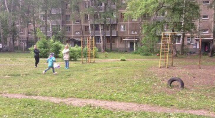 В администрации прокомментировали просьбу жителей улицы Великанова установить детскую площадку во дворе