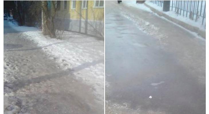 У Торгового городка упал и умер пенсионер - администрация сообщает, что лед здесь ни при чем