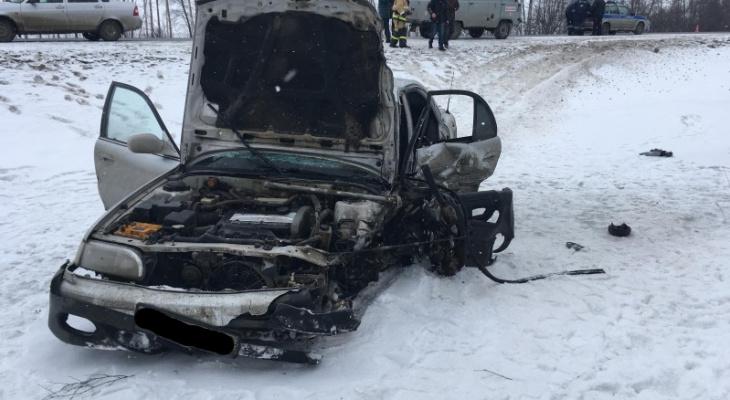 Жуткое ДТП в Спасском районе - один человек погиб, четверо пострадали