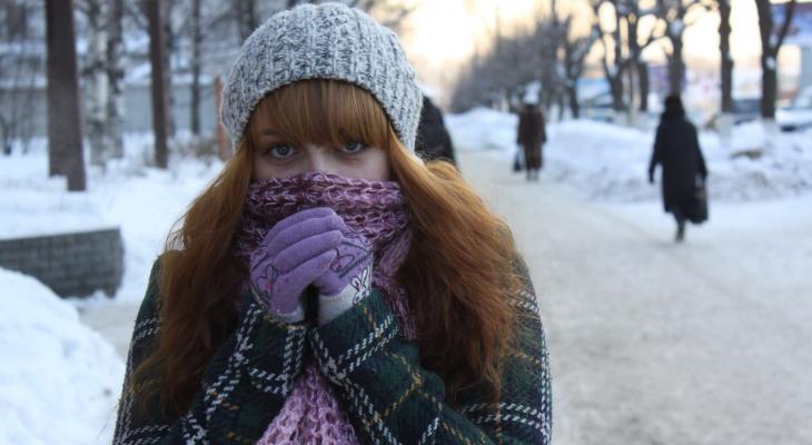 На Рязань надвигаются морозы - опубликован прогноз погоды на неделю