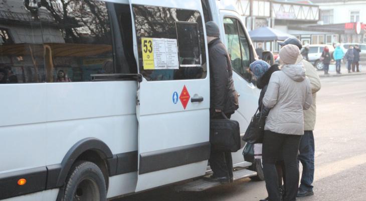 Рязанцы выступили в защиту водителей маршруток